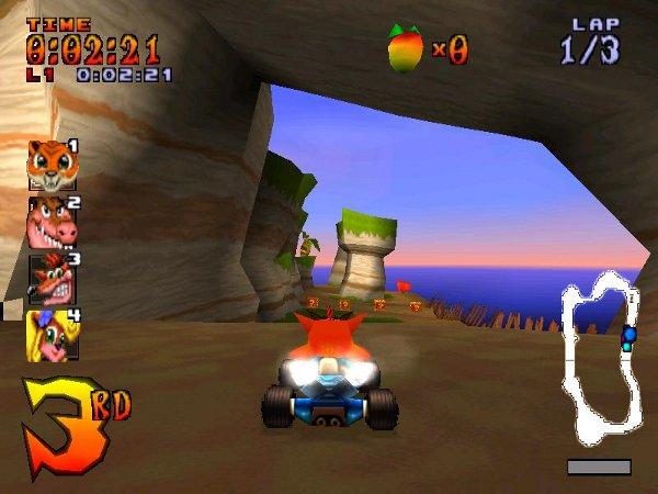 اللعبة الرائعة Crash Team Racing